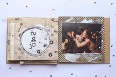 Mezclando el mix media con el vintage. rosa verdosa. mini. scrapbooking. mix media. vintage