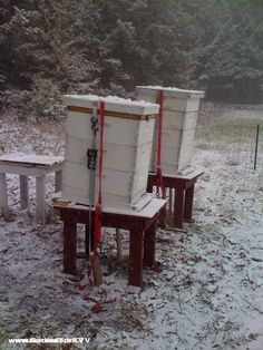 Getting Beehives Ready for winter takes a few steps we list here, part of our beginning beekeeping - beekeeping 101 series