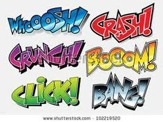 comic sound effects - Google Search