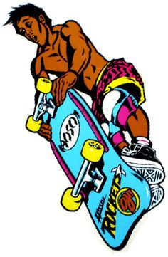 Christian Hosoi Rockets  Inventing tricks and makin' stickers out of it    Thanks Aaron Abbott!
