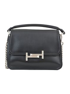 TOD'S TODS SMALL DOUBLE T BAG. #tods #bags #shoulder bags #hand bags #lining #metallic #