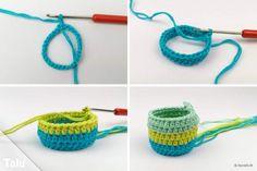 Crochet For Beginners, Crochet Stitches, Friendship Bracelets, Easter, Diy, Crochet Stitch Tutorial, Bricolage, Beginner Crochet, Easter Activities