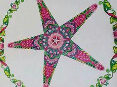 Johanna Basford Lost Colouring Coloring Books Perdido Starfish Vintage Pages