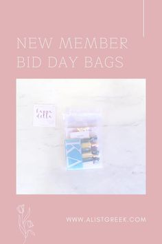 Celebrate your new members this recruitment with the Newbie Love bundle! Gift bag includes a sorority decal, hair tie set, and button set. Kappa Delta Gift Bags | Kappa Delta Bid Day | KD New Member Gifts | Kappa Delta Recruitment | Sorority Bid Day | Sorority Recruitment | Bid Day Bags | Sorority New Member Gift Ideas #BidDayGifts #SororityRecruitment Omega Alpha, Alpha Sigma Alpha, Sigma Kappa, Sorority Bid Day, Sorority Recruitment, Sorority Gifts, Bid Day Gifts, Letter Decals, Bid Day Themes