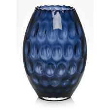 Mink Ombre Crackle Glass Medium Vase From The Next Uk