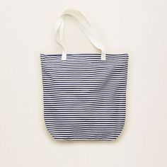 Aerie Tall Beach Tote ($20) ❤ liked on Polyvore featuring bags, handbags, tote bags, navy blue, white purse, stripe tote, stripe beach tote, navy blue tote and beach bag