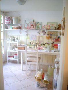 dulces pilukas: Craft Room , Ideas para organizar tu taller en casa
