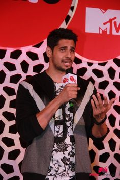Sidharth and Alia at the launch of new season of MTV Coke Studio