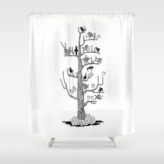 Black Tree Shower Curtain - Best Selection in Town! Tree Shower Curtains, Black Tree, Curtain Designs, Elegant, Beautiful, Decor, Classy, Chic, Decoration