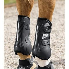 Veredus® Nero Carbon Gel Open Front Horse Boots