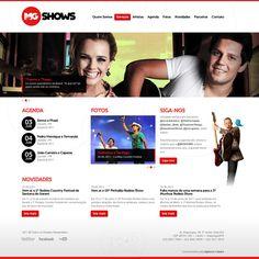 A MG Shows é uma empresa do Sistema de Comunicação Carvalho, e seus sócios possuem experiência de mais de 10 anos no setor artístico, e a Codare foi escolhida como agência digital para desenvolver todos os trabalhos da empresa.