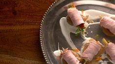 Roulades de porc et jardinière de légumes