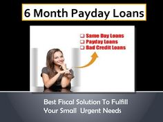 Convenient Fiscal Assistance For Your Sudden Expenses Time