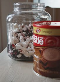 It's the little things that make a house a home...: The Gift Of Peppermint Hot Chocolate...