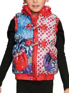 Desigual Girls Puff Vest