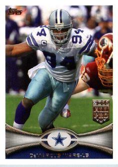 2012 Topps Football Card #190 DeMarcus Ware - Dallas Cowboys (NFL Trading Card) by Topps. $1.97. 2012 Topps Football Card #190 DeMarcus Ware - Dallas Cowboys (NFL Trading Card)