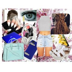 spring lazy day by rebeccabeckybrooks on Polyvore featuring Topshop, McKleinUSA, Speck, Beats by Dr. Dre, BCBGMAXAZRIA, SUQQU, Eyeko and Maybelline