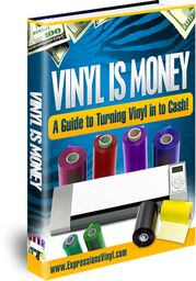 Buy Vinyl Is Money eBook for only and get fast same-day shipping only at Expressions Vinyl! Cricut Vinyl, Vinyle Cricut, Buy Vinyl, Cricut Air, Vinyl Store, Cheap Vinyl, Cricut Craft, Crafts For Teens To Make, Crafts To Sell