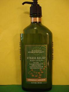 Bath & Body Works Aromatherapy Lemongrass Cardamom Lotion Large Full Size
