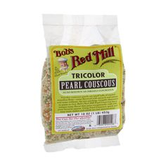 I'm learning all about Bob's Red Mill Tricolor Pearl Couscous at @Influenster!