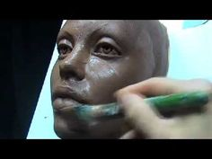 The art of sculpting a face mask. Demo how to sculpt face mask in a water based clay. You can see the process of sculpting a beautiful female face. This is the part of mask making. Mask design by Joanna Mozdzen www.joannamozdzen… Source by Sculpture Techniques, Sculpture Lessons, Sculptures Céramiques, Sculpture Clay, Ceramic Mask, Sculpting Tutorials, Clay Faces, Paperclay, Clay Figures