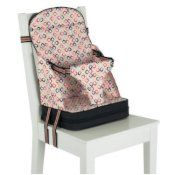 travel chair folds down into purse like bag ... Polar on the go Feeding booster