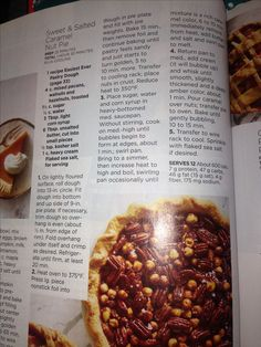 Sweet and Salted Caramel Nut Pie