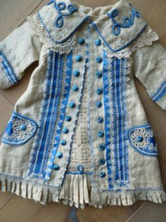 antique dolls dress