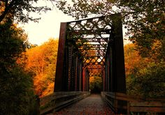 Autumn Bridge, Mt Vernon, Ohio