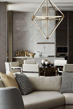 Modern masterpieces for contemporary living room, grey living rooms.  www.bocadolobo.com