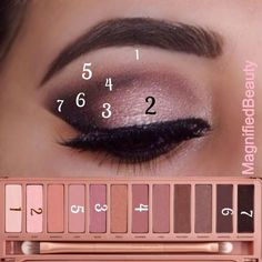 Rose Gold Smokey Eye