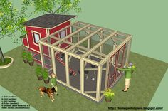 Chicken Coop Plans Construction - How to build a Chicken Coop