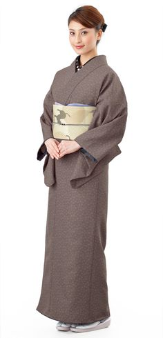 きものやまとオンラインショップ きもの遊び.net   江戸小紋 洗えるプレタ着物