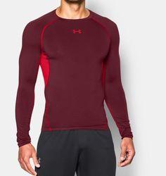 Men's UA HeatGear® Armour Long Sleeve Compression Shirt Sport Casual, Men Casual, Sport Outfits, Gym Outfits, Sleeveless Shirt, Workout Tops, Gym Men, Under Armour, Man Shop