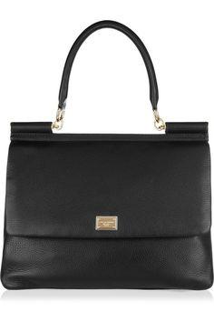 Image detail for -Dolce & Gabbana Textured leather shoulder bag | All Handbag Fashion