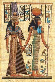 primeros dioses de la humanidad - Buscar con Google Isis y Nefertari