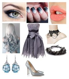 """""""Grey Ice"""" by rag-doll0 ❤ liked on Polyvore"""