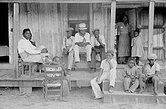 Families within the quarters had several children and lacked necessary hygiene because they were sharecroppers and children were forced with the task of working in the field as well