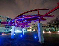 """""""Turning Points"""" Sculpture at Wright State University - Dayton, OH 