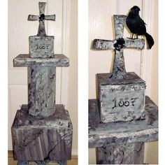 Not Your Ordinary Homemade Tombstone