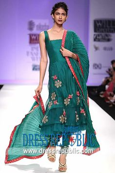 Fethiye Anarkali, Product code: DR8862, by www.dressrepublic.com - Keywords: Geisha Designs by Paras and Shalini Designer Collection 2013 Buy Online in USA, UK, Australia
