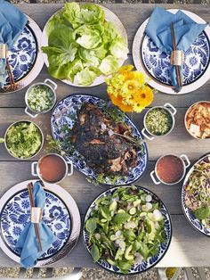 Bo Ssam Dinner Party Menu from @whatsgabycookin