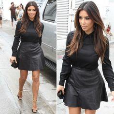 Kim Kardashian in Tom Ford sandals by Cicilia :: fashion looks