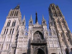Gothic Cathedral in Rouen