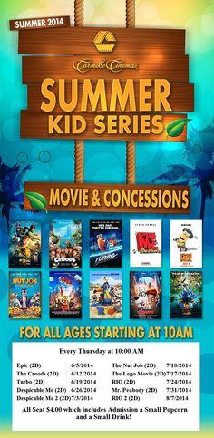 Carmike Summer Movies 2014