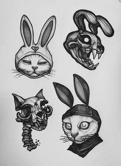 Cats black art drawings 26 Best Ideas Cats black art drawings 26 Be. Cats black art d Creepy Drawings, Dark Drawings, Creepy Art, Cool Drawings, Creepy Paintings, Skull Drawings, Tattoo Sketches, Tattoo Drawings, Body Art Tattoos