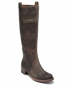 Lucky Brand brown boots - I love this simple style