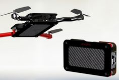 Anura Pocket Drone Offers Truely Portable Smartphone Controlled Flying - The Anura Pocket Drone weighs just 4 ounces and is capable of flying for 12-16 minutes on a full charge and is equipped with a 320 x 288 dpi camera. | Geeky Gadgets