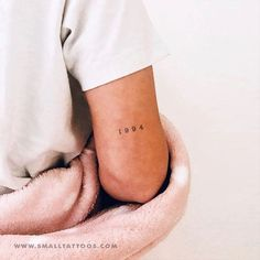 1994 Birth Year Temporary Tattoo (Set of – foot tattoos for women quotes Number Tattoos, Word Tattoos, Fake Tattoos, Sexy Tattoos, Small Tattoos, Tatoos, Number Tattoo Fonts, Mini Tattoos, Arm Tattoo Numbers