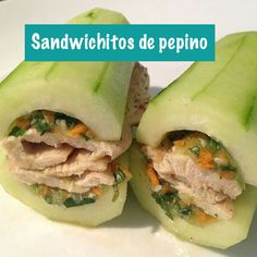 Sandwichitos de pepino | InstaFit
